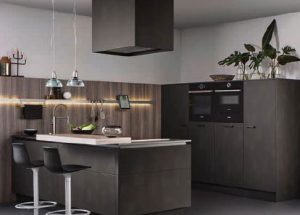 With German Technology, Leicht Was Able To Achieve A Metallic Looking  Effect On A Series Of Their Cabinetry. These Doors Are A Matte Lacquer And  Are ...