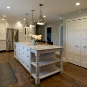 Fenn Road kitchen designed by John Hall of Hall Design Group photographed Friday, August 11, 2017, in Medina, Ohio. (Peggy Turbett Photography)